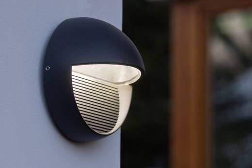 LED-Außenwandleuchte 3 W Neutral-Weiß ECO-Light LED-Design Leuchte Radius 1865 GR Anthrazit
