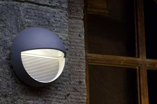 LED-Außenwandleuchte 3 W Neutral-Weiß ECO-Light LED-Design Leuchte Radius 1865 SI Silber