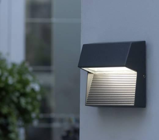 LED-Außenwandleuchte 3 W Neutral-Weiß ECO-Light LED-Design Leuchte Radius 1866 GR Anthrazit