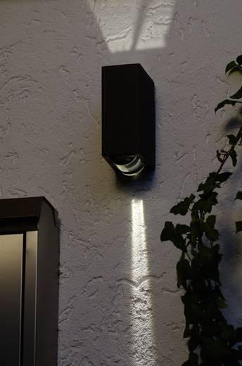 LED-Außenwandleuchte 2 W Neutral-Weiß ECO-Light LED-Design Leuchte Evans 1862 GR Anthrazit