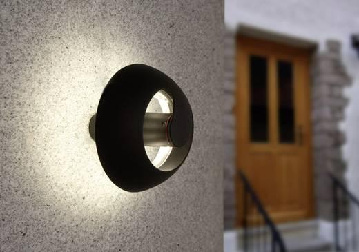 ECO-Light Spril 2253 S GR LED-Außenwandleuchte 6 W Neutral-Weiß Anthrazit