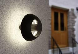 Applique murale LED extérieure ECO-Light Spril 2253 S GR LED intégrée anthracite
