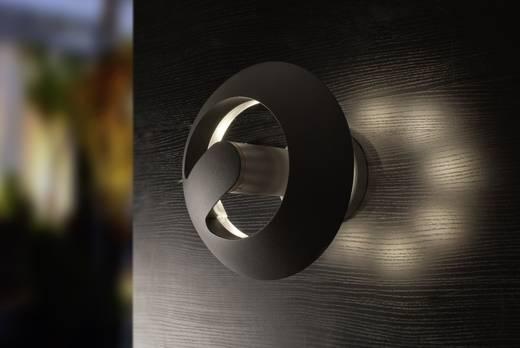 LED-Außenwandleuchte 24 W Neutral-Weiß ECO-Light LED-Design Leuchte SPRIL 2253 M GR Anthrazit