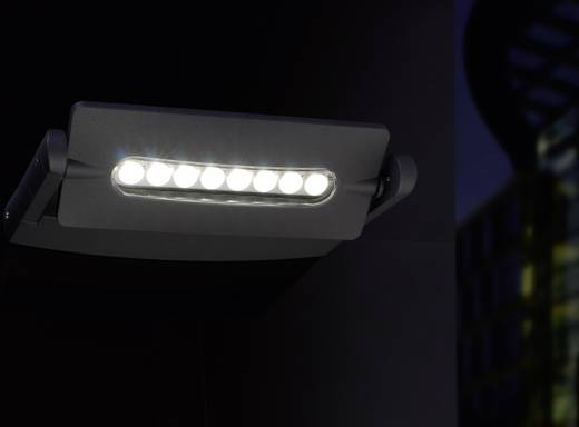 ECO-Light LEDSPOT 6144-1 GR LED-Außenwandleuchte 24 W Neutral-Weiß Anthrazit