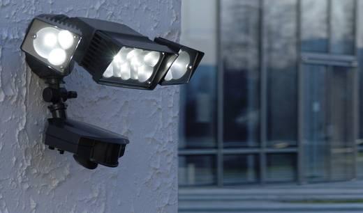 LED-Außenstrahler mit Bewegungsmelder 42 W Neutral-Weiß ECO-Light LED-Design Leuchte TRANSFORMERS 6155-PIR 12 GR Anthraz