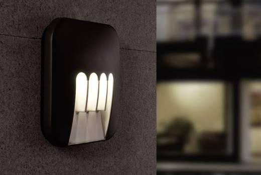ECO-Light MASK 1872 GR LED-Außenwandleuchte 12 W Neutral-Weiß Anthrazit