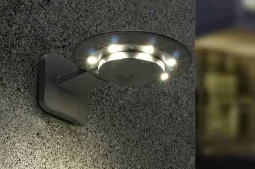 LED-Außenwandleuchte 18 W Neutral-Weiß ECO-Light LED-Design Leuchte GHOST 2256 S GR Anthrazit