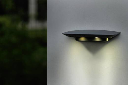 ECO-Light GHOST 1881 S GR LED-Außenwandleuchte 12 W Neutral-Weiß Anthrazit