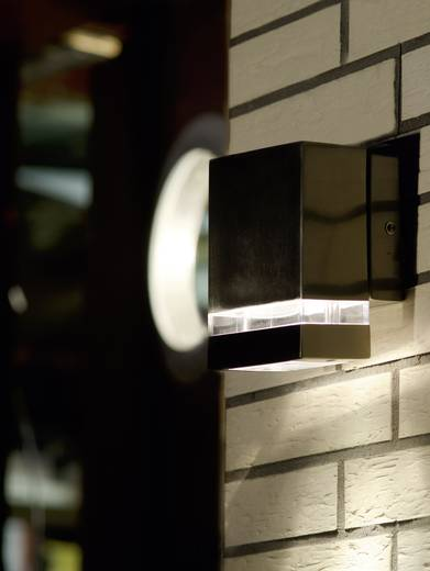 ECO-Light Focus ST 6051 LED LED-Außenwandleuchte 3 W Neutral-Weiß Stahl