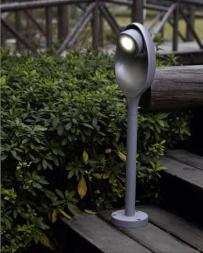 LED-Außenstandleuchte 9 W Kalt-Weiß ECO-Light 6161-580 gr Eggo Anthrazit