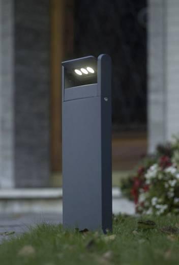 LED-Außenstandleuchte 9 W Kalt-Weiß ECO-Light 6146 S-1-526 GR LEDSpot Anthrazit