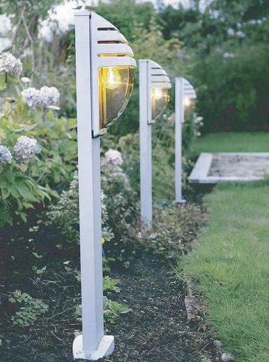 Außenstandleuchte LED E27 60 W ECO-Light City 11836 R SI Silber