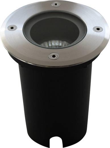 Außeneinbauleuchte Halogen 35 W ECO-Light Design-Einbauleuchte BERLIN 7005 A GU10 Silber