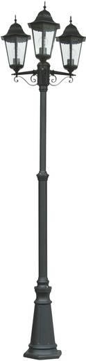 Außenstandleuchte Energiesparlampe E27 ECO-Light Bristol 31331 LB SW Schwarz