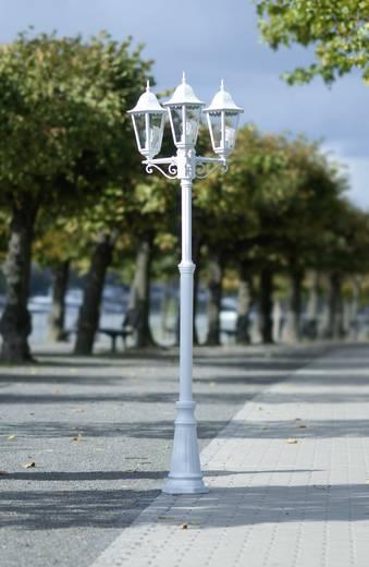 Außenstandleuchte Energiesparlampe E27 ECO-Light Bristol 31331 LB WH Weiß