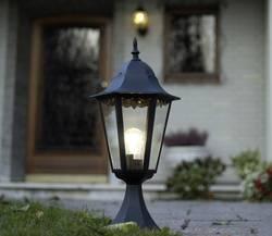 Image of Außenstandleuchte ECO-Light Bristol 1334 L SW Schwarz