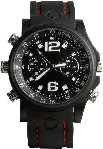 Getarnte Überwachungskamera in der Armbanduhr 8 GB 640 x 480 Pixel Technaxx 176810