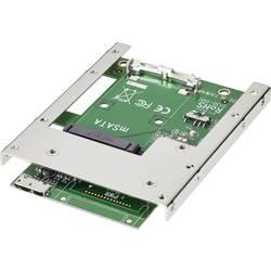 Konvertor rozhrania Renkforce RF-2000362, [1x mini SATA zástrčka - 2x micro USB 3.0 zásuvka B]