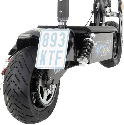 E-Scooter SXT Scooters ESC1000XLEEC Schwarz Blei 48 V 12 Ah Straßenzulassung: Ja