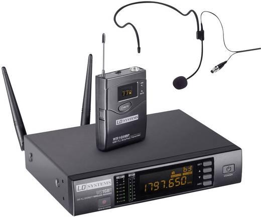 Headset Funkmikrofon-Set LD Systems 1G8 Funkmikrofon Headset Übertragungsart:Funk inkl. Koffer
