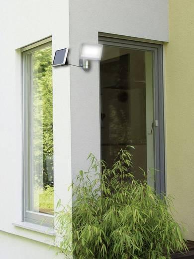 Solar-Spot mit Bewegungsmelder 4 W Kalt-Weiß Brennenstuhl 1170840 SOL 80 Silber-Grau