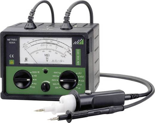 Gossen Metrawatt M 540 C Isolationsmessgerät 50 V, 100 V, 250 V, 500 V, 1000 V 400 MΩ Kalibriert nach DAkkS