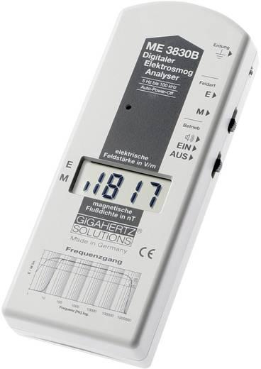 Gigahertz Solutions ME 3830B Niederfrequenz (NF)-Analysegerät, Elektrosmog-Messgerät, 16 Hz - 100 kHz, - 2dB (gemäß dem Standard der Baubiologischen Messtechnik)
