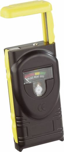 VOLTCRAFT MS 228 A Batterietester für Micro-, Mignon-, Baby-, Mono- und 9 V Batterien sowie Knopfzellen