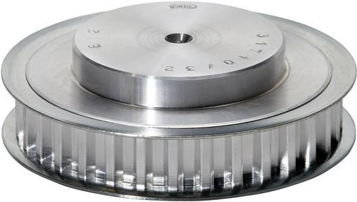 Zahnscheibe PDM021T514 Aluminium Anzahl Zähne: 14 Passend für Riemenbreite: 10 mm
