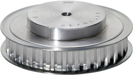 Zahnscheibe PDM027T512 Aluminium Anzahl Zähne: 12 Passend für Riemenbreite: 16 mm