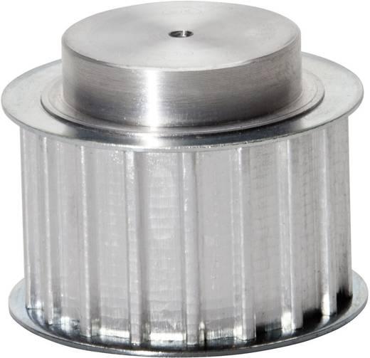 Zahnscheibe PM040AT1019 Aluminium Anzahl Zähne: 19 Passend für Riemenbreite: 25 mm