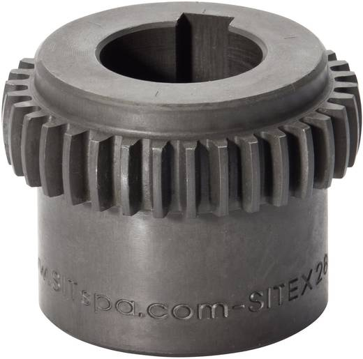 SIT SITEX Zahnkupplungsnabe GDN019 Stahl ungebohrt Bohrungs-Länge 25 mm Außen-Durchmesser 30 mm