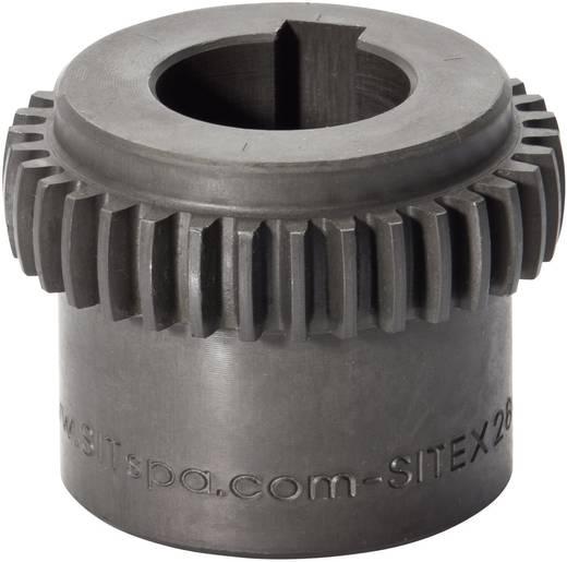 SIT SITEX Zahnkupplungsnabe GDN080 Stahl ungebohrt Bohrungs-Länge 90 mm Außen-Durchmesser 124 mm
