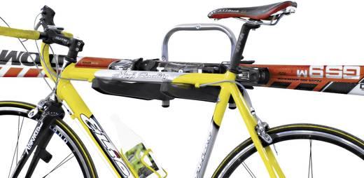 Fahrradwandhalter Anzahl Einstellplätze=3 000371 Aluminium, Kunststoff Silber-Schwarz