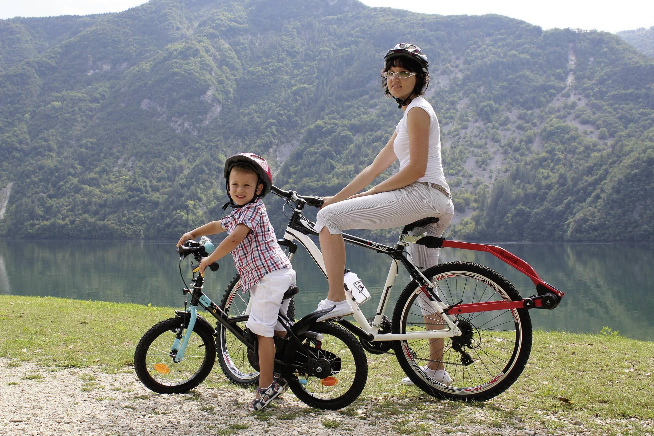 Trail Angel Fahrrad Tandemstange Rot, Schwarz