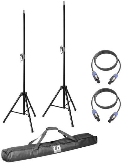 PA-Lautsprecher Stativ Set Ausziehbar, Höhenverstellbar, Mit Verriegelungsmechanismus LD Systems Dave 8 Set 2 1 St.
