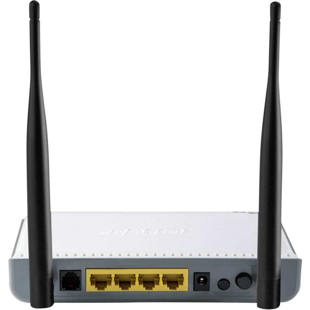 Tenda W300D WLAN Router mit Modem Integriertes Modem: ADSL2+, ADSL ...