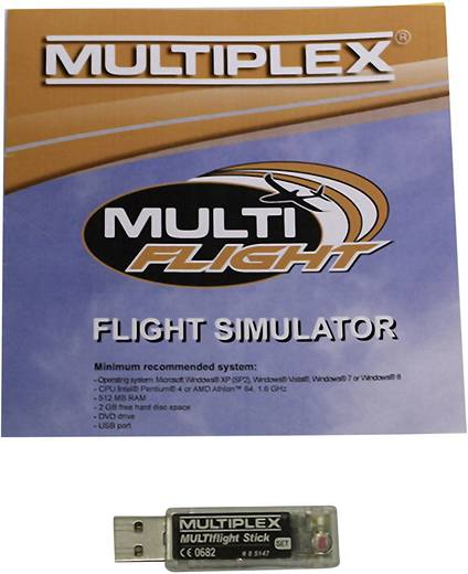 Modellbau Flugsimulator mit Interface Multiplex MULTIflight