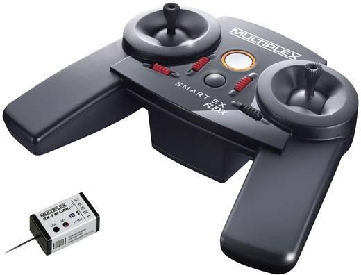 Multiplex SMART SX9 FLEXX Hand-Fernsteuerung 2,4 GHz Anzahl Kanäle: 9 inkl. Empfänger