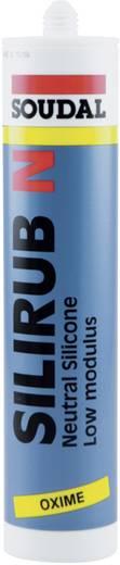 Soudal Silirub N Silikon Farbe Weiß 9301 310 ml