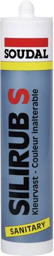 Soudal Silirub S Silikon Farbe Weiß 9531 310 ml