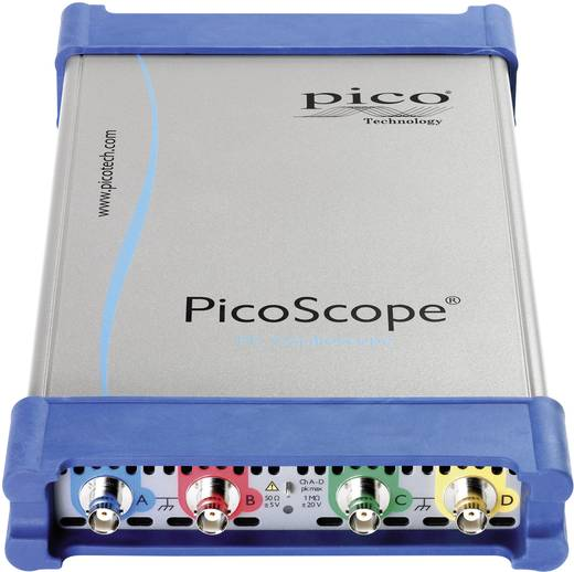 USB-Oszilloskop pico PP887 350 MHz 8-Kanal 5 GSa/s 1 Gpts 8 Bit Kalibriert nach ISO Digital-Speicher (DSO), Funktionsgen
