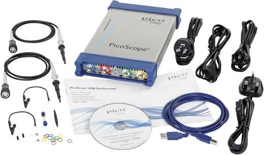 USB-Oszilloskop pico PP886 350 MHz 8-Kanal 5 GSa/s 512 Mpts 8 Bit Digital-Speicher (DSO), Funktionsgenerator, Spectrum-