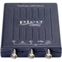 USB, PC osciloskop pico 2205A, 25 MHz, 2-kanálová, Kalibrované podľa (DAkkS)