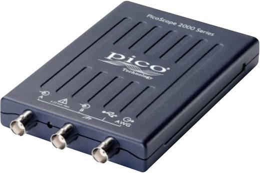 Oszilloskop-Vorsatz pico cope 2208A 200 MHz 2-Kanal 500 MSa/s 48 kpts 8 Bit Digital-Speicher (DSO), Funktionsgenerator,