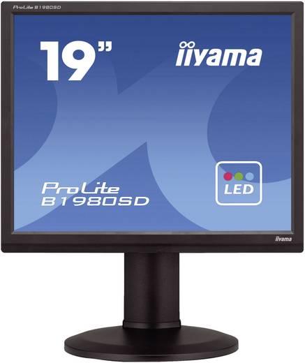 LED-Monitor 48.3 cm (19 Zoll) Iiyama B1980SD EEK n.rel. 1280 × 1024 Pixel SXGA 5 ms DVI, VGA TN LED