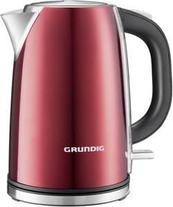 Rychlovarná konvice Grundig WK 6330 GMN 3700, 3000 W, 1700 ml, červená (metalíza), nerezová ocel