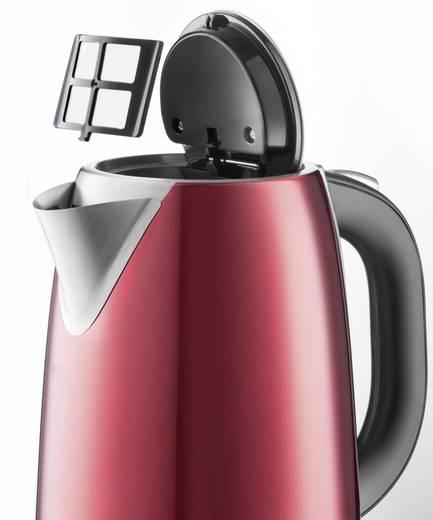 Wasserkocher schnurlos Grundig WK 6330 Rot (metallic), Edelstahl