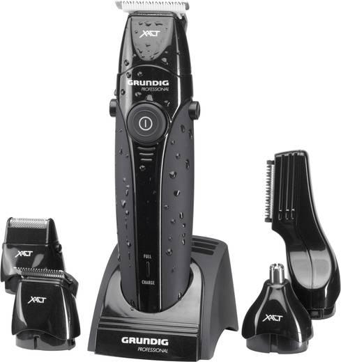 Haarschneider, Bartschneider, Körperhaartrimmer Grundig MT8240 abwaschbar Schwarz