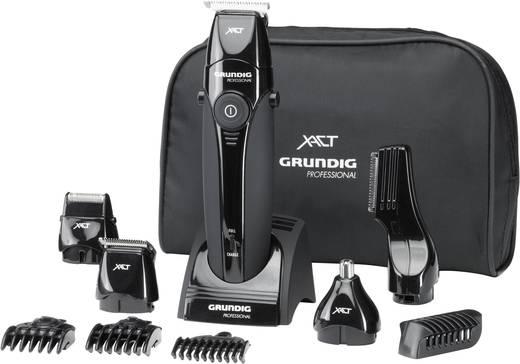 Grundig MT8240 Haarschneider, Bartschneider, Körperhaartrimmer abwaschbar Schwarz